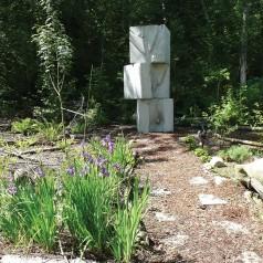 Concrete Tree Imprint