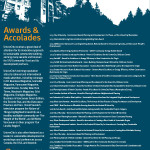 Awards & Accolades Feb 2016 one pager for web